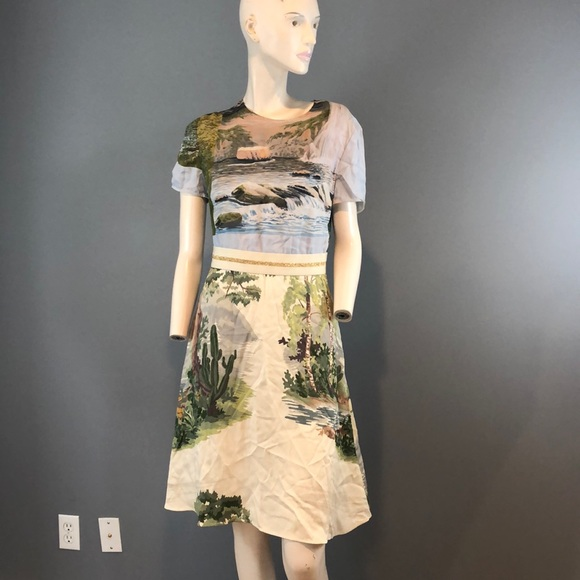 Stella McCartney Dresses & Skirts - NWT Stella McCartney Print Silk Dress Sz 42/US 4-6